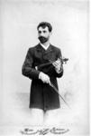P-020695 Portret van Bernhard Dessau, leraar aan de Muziekschool en eerste concertmeester.