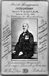 P-021122 Portret van Pieter Danerman, bekend als Piet de Bruggeman, redde als brugwachter 58 mensenlevens waarvoor hij ...