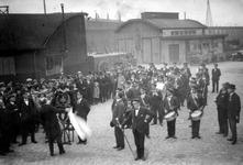 2003-263 De harmonie van de Gemeentereiniging. Foto uit een serie van ca 3.500 foto's en dia's over de Roteb ca 1910-ca 1980.