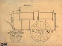 2003-508 ROTEB: Tekening van een modderwagen.