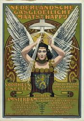 VII-0000-0018 Nederlandsche Gasgloeilicht Maatschappij. Voorheen J. Selten. Hoofdkantoor Amsterdam Keizersgracht 58. ...