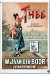 XI-0000-0020 Thee geurig en waterhoudend. W.J. van der Boor Vlaardingen.
