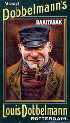 XI-0000-0049 Vraagt Dobbelmann's tabak. Baaitabak. Louis Dobbelmann Rotterdam.