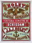 XI-0000-0118 Nolet L'Aigle Impérial. Véritable Genièvre de Schiedam.J.A.J. Nolet Distillateur 1re classe Schiedam Hollande.