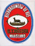 XI-0000-0133 Bierbrouwerij de Ree. G.T. Reeser Maasland.