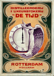 XI-0000-0135 Distilleerderij likeurstokerij De Tijd Rotterdam - Holland.