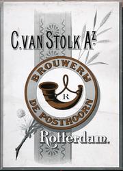 XI-0000-0136 C. van Stolk Az. Brouwerij De Posthoorn Rotterdam.
