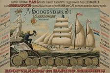 XI-0000-0177 A. Hoogendijk Jz. Vlaardingen (Holland), koopvaardij en haring reederij.