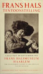 XIX-1966-0531 Frans Hals Museum. Frans Hals tentoonstelling. 1 juli - 30 sept. 1937. Ter gelegenheid van het 75 jarig ...