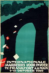 XX-1967-0579 Internationale jaarbeurs voor invoer te Frankfort am Main 1-15 oktober 1919.