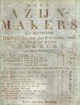 XX-1967-0636 Door Azijn-makers te Rotterdam is besloten dat, met den 8sten Februarij 1820, de azijn zal worden ...