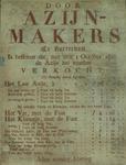XX-1967-0637 Door azijn-makers te Rotterdam is besloten dat, met den 1 October 1822, de azijn zal worden verkocht: (De ...