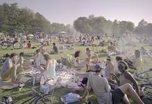 2012-24 Mensen recreëren in het Vroesenpark. De foto is gemaakt in opdracht van De Kracht van Rotterdam (DKVR).