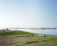 2012-42 Zicht op de Nieuwe Waterweg en de Maasvlakte ter hoogte van Hoek van Holland. De foto is gemaakt in opdracht ...