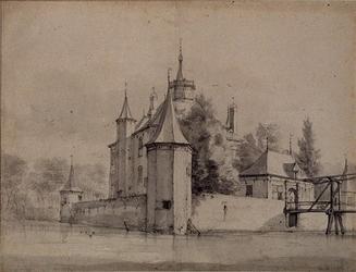 1968-1580 Het Slot te Capelle aan den IJssel.