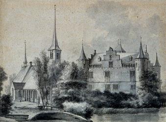 1968-1582 Kasteel te IJsselmonde.