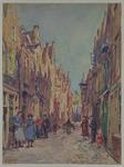 1968-3037 Straatgezicht in de Verlaatstraat.