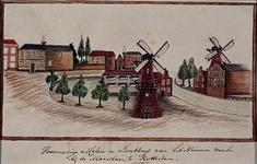 1969-19 Gezicht op het Nieuwe Werk (later Parklaan), gezien uit het zuiden, met rechts de Maaslaan (later ...