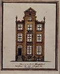 1969-28 Huis van Aert van Nes aan de oostzijde van de Korte Hoogstraat, bij het Steiger.