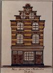 1969-30 Gezicht op het huis aan de westzijde van de Botersloot.