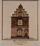 1969-57 Huis Haringvliet, op de hoek van de Hooimarkt.