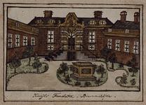 1969-63 Gezicht op de binnenplaats van de Kuyl's Fundatie.
