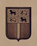 1969-744 Wapen van de gemeente Rotterdam naar de vorm van 1816.