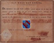 1970-1434 Wapen van de gemeente IJsselmonde, verleend door de hoge raad van Adel.