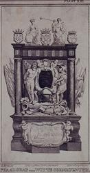 1970-1439 Praalgraf voor Witte Cornelzn. de With in de Grote Kerk of Sint-Laurenskerk.