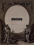 1971-2483 Ontwerp titelblad, als nummer 1971-2482, echter in blanco middenvlak gedrukt: brieven, en zonder uitgeversnaam.