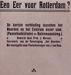 1971-2484-1 Titelblad: Een eer voor Rotterdam.