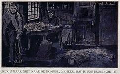 1971-2484-2 De armoede en de woningtoestanden van een krotwoning in de Pannekoekstraat geeft het aan hoe de ...