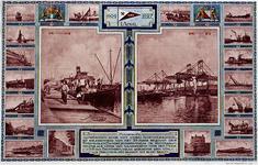 1972-1834 1 april 192725 jarig bestaan Steenkolen Handelsvereniging Rotterdam.Lossen en laden, schepen in de ...