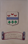 1972-1884 't Wapen van mr. F.J.C. Boymans.