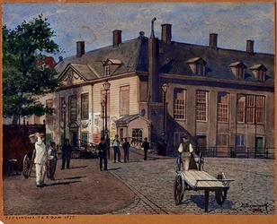 1972-1962 Het Zeekantoor gezien vanaf het Oudehoofdplein.