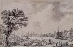 1973-1329 Gezicht op de haven van La Rochelle.