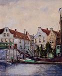 1973-3845 Delfshavense Schie nabij de Aelbrechtssluis en - brug.