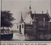 1973-4030 De Delftse Poort, aan de Coolsingel, gezien uit de westelijke richting.