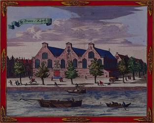 1973-4334 Gezicht op de Prinsenkerk aan de Botersloot.