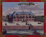 1973-4340 Gezicht op het Admiraliteitshof aan de Spaansekade bij de Oudehaven.
