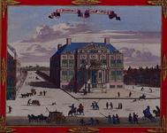 1973-4341 Gezicht op het Schielandshuis aan de Korte Hoogstraat. Links de Grote Pauwensteeg.