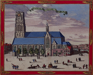 1973-4343 Gezicht op de Sint-Laurenskerk of Grote Kerk aan het Grotekerkplein, rechts de Binnenrotte.