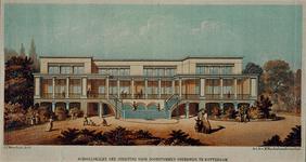 1973-4463 Schoollokalen van de Inrichting voor doofstommen onderwijs.