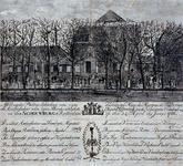1973-4505 24 april 1786Bezoek van de Franse ambassadeur markies De Verac, aan de Schouwburg aan de Coolsingel.