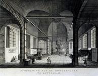 1973-4509 Oosterkerk aan de HoogstraatInterieur gezien naar het orgel.