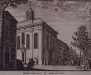 1973-4548 De Lutherse kerk aan de Wolfshoek. Gezien uit het noordoosten vanaf Zuidblaak.