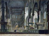 1973-4609 Het interieur van de Grote Kerk, gezicht naar het koor.