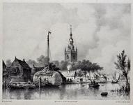 1973-4823 Gezicht op het dorp Overschie.