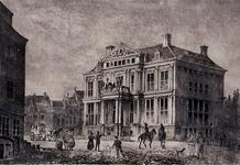 1973-4944 Het Schielandshuis aan de Korte Hoogstraat, uit het noordoosten.