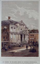 1973-4947 Gezicht op het Museum Boymans aan de Korte Hoogstraat, uit het zuidoosten.